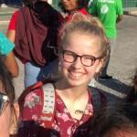 Pauline auf dem Weltjugendtag in Panama