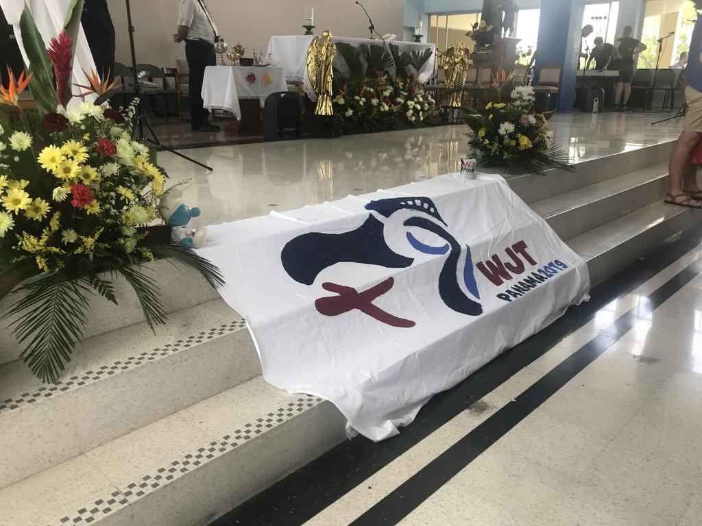 Deutssprachige Katechese beim Weltjugendtag in Panama